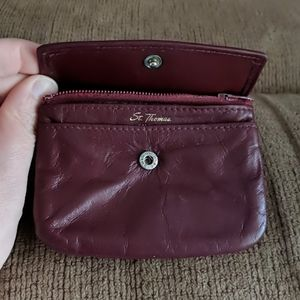 Handbags - VINTAGE Leather Card and Coin Purse